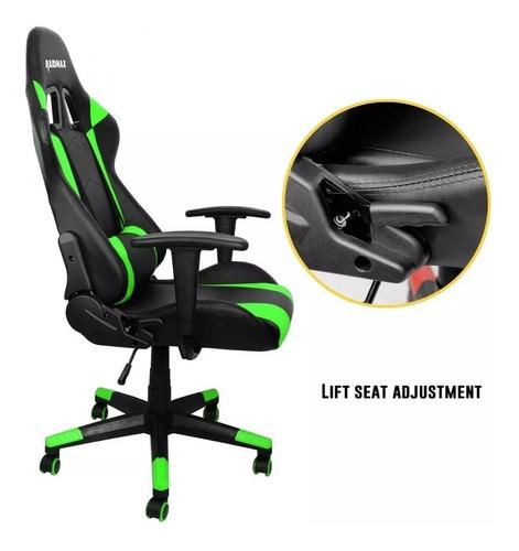 silla gamer pc raidmax drakon reclinable ergonómica pro