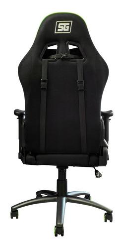 silla gamer reclinable ergonomica 120k vorago start the game