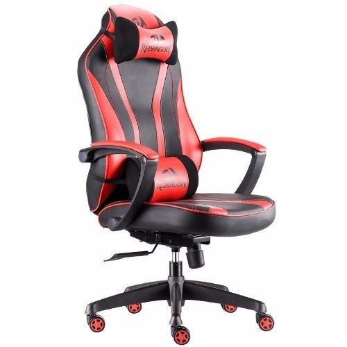 silla gamer redragon metis c102 negra roja pc ps4 gaming ht2