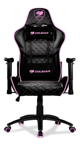 silla gamer rosa cougar armor one eva