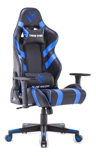 silla gamer slam racing reclinable gaming lan center