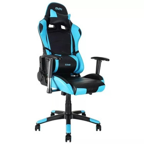 Negro Gamer Silla Color Azul Stratos xoQWrdeCB