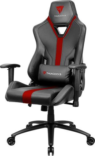 silla gamer thunder x3 yc3 negra/roja