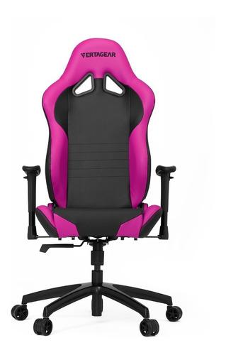 silla gamer vertagear sl2000 negro con rosado