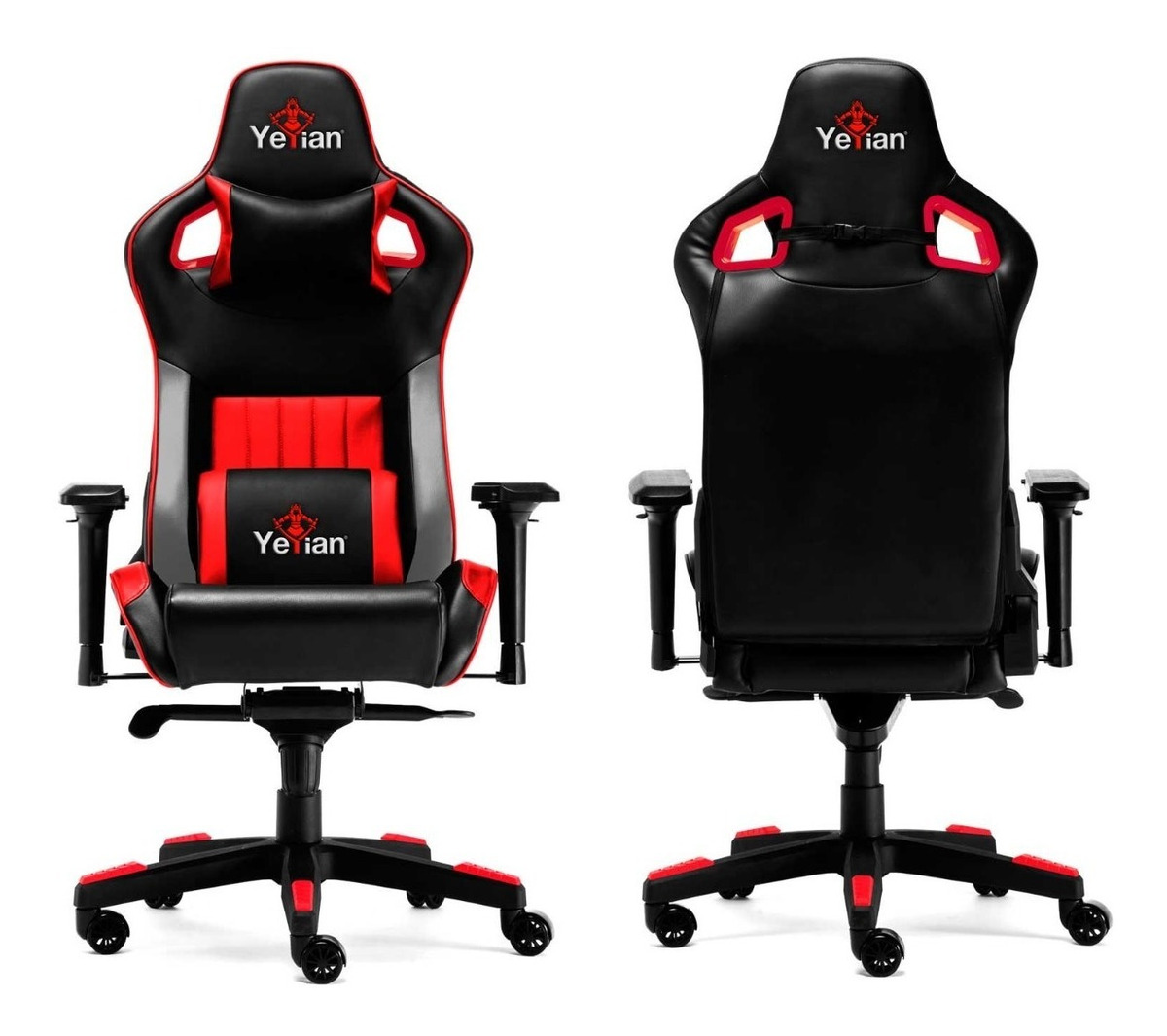 Silla Cadira Gamer Armazon Roja 2150r Yeyian Metalico rBhCQdsxt