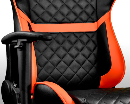 silla gaming armor one orange cougar gamer + envío gratis