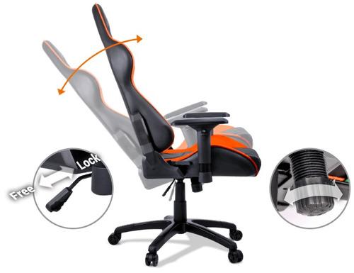 silla gaming cougar armor ergonomica el trono gamer la mejor