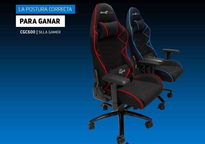 Game Gaming Factor J3t1lfkc Silla Cgc600 Roja Telapoliuretanometal dQrxoeEWCB