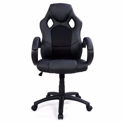 Silla Gaming P/oficina O Para Hogar Diseño Deportivo Colores ...