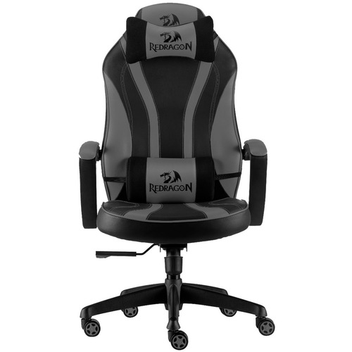 silla gaming redragon metis c101 negra gris pc ps4 gamer