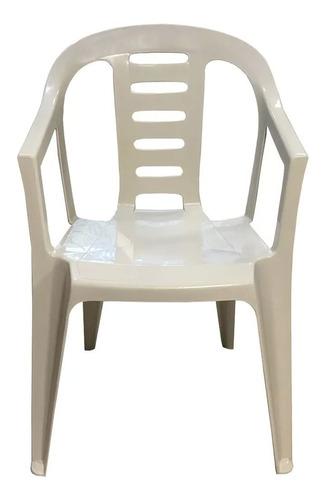 silla garden x4 plastica apilable jardin mejor precio kromos