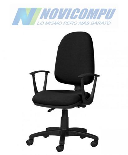 silla giratoria con apoya brazos importada