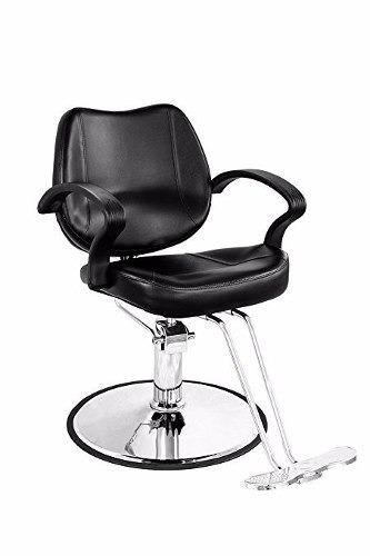 silla giratoria hidraulica salon estetica barberia cabello