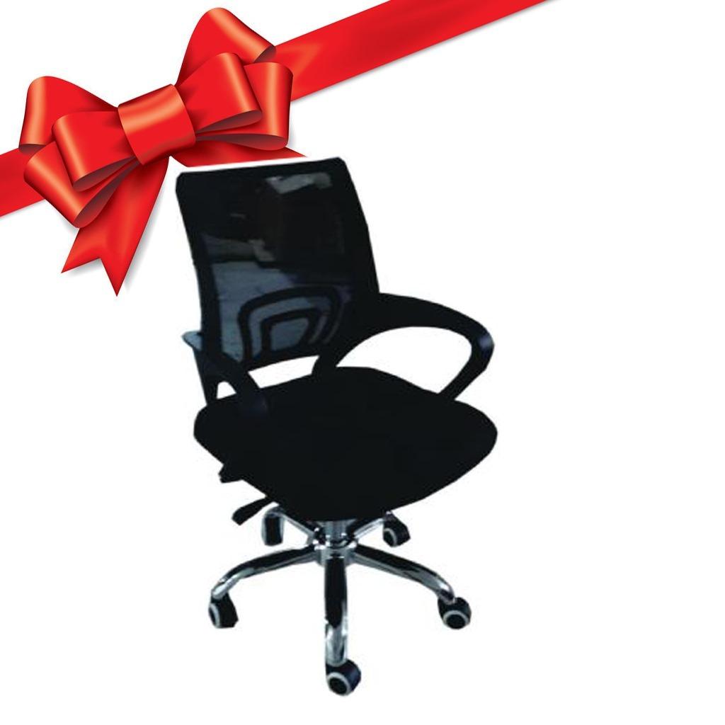 Silla Giratoria Oficina Con Ruedas Y Gas 7638 Regalo! - U$S 61,00 en ...