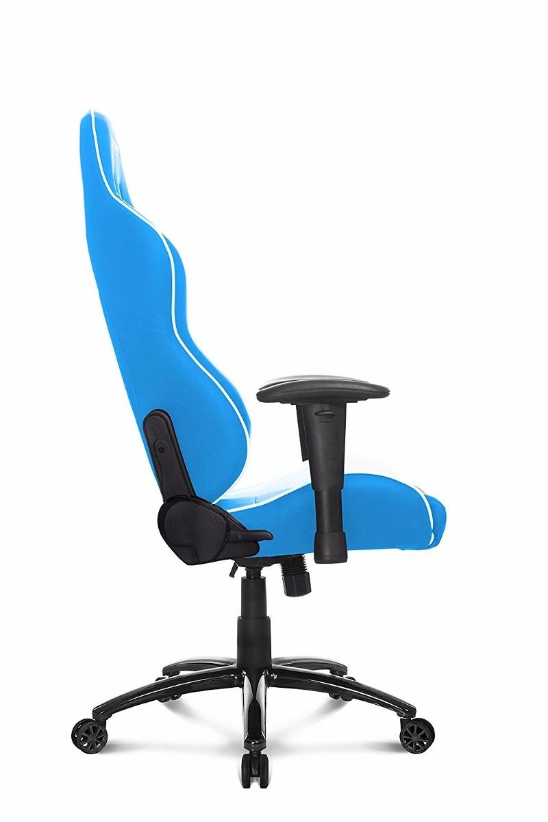 Silla giratoria oficina gamer akracing ak 5015 nitro azul - Silla giratoria oficina ...