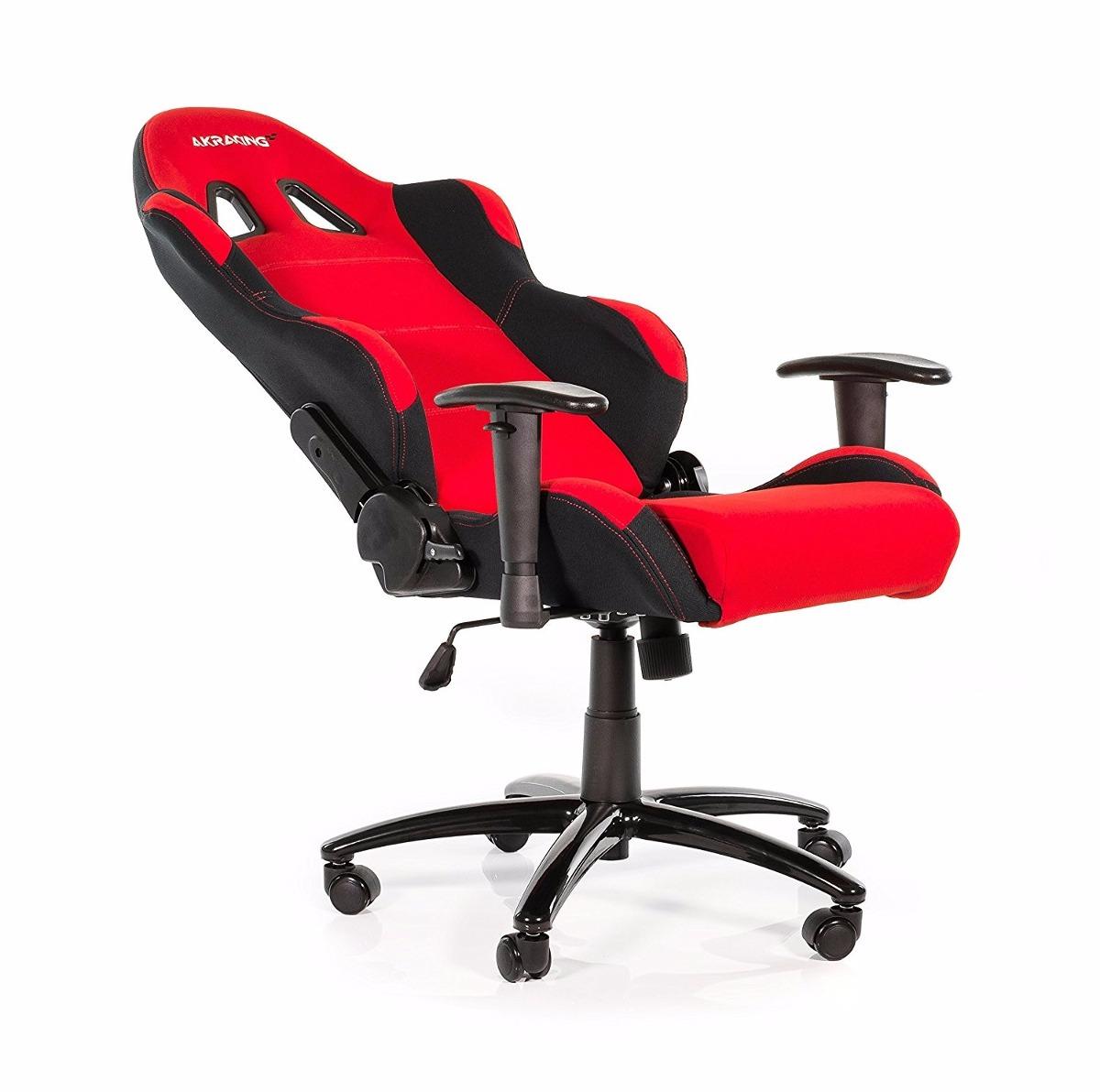 Silla giratoria oficina gamer akracing ak 7018 roja for Sillas de oficina usadas