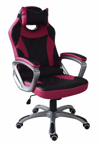 Silla giratoria oficina gamer motoracer pro ergonomica - Silla ergonomica oficina ...