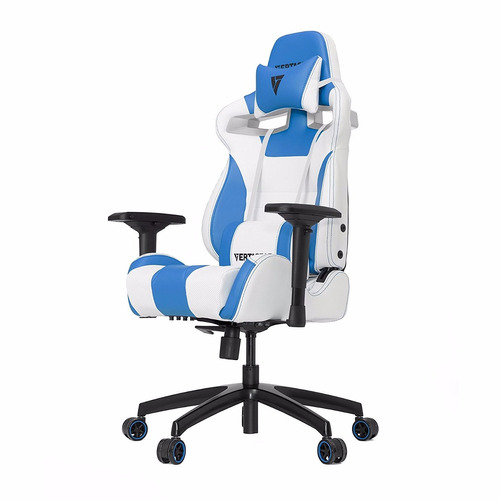 Silla Giratoria Oficina Gamer Vertagear Sl4000 Blanco/azul ...