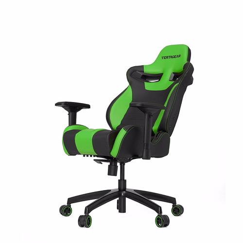 Silla giratoria oficina gamer vertagear sl4000 negro verde for Sillas de oficina usadas