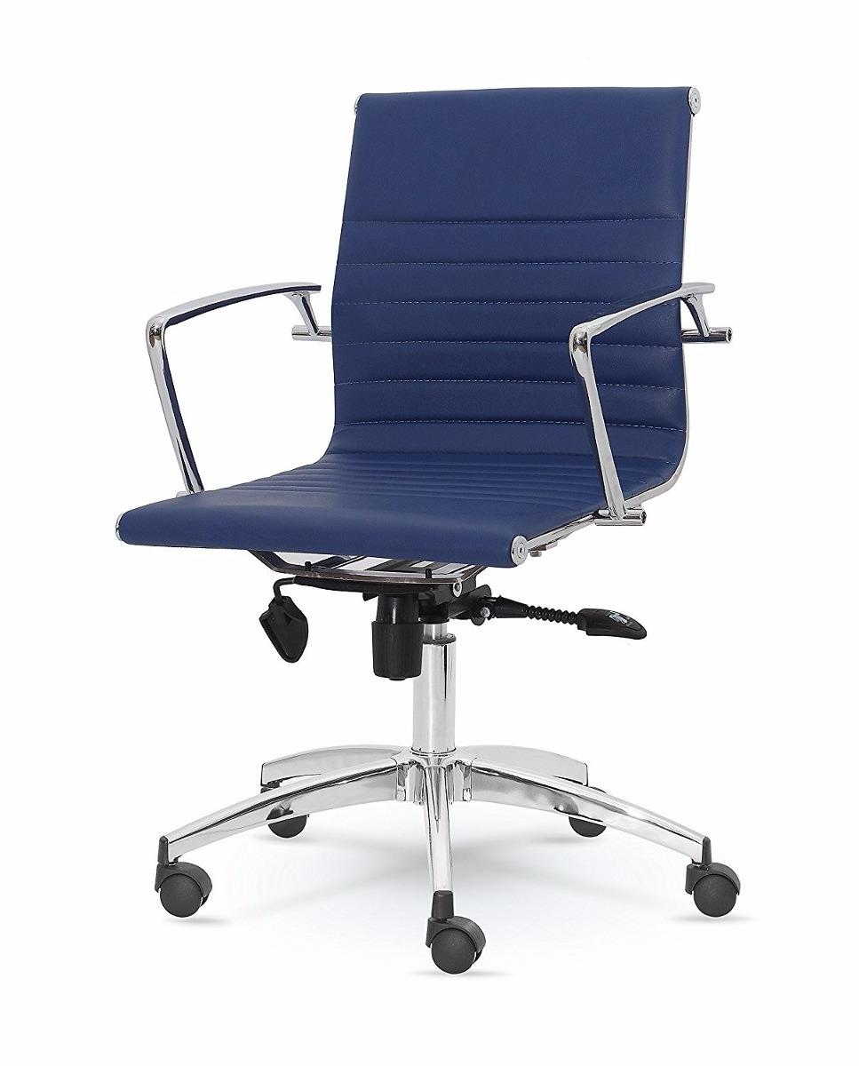 Silla giratoria oficina gamer winport dynamic cuero azul - Silla giratoria oficina ...