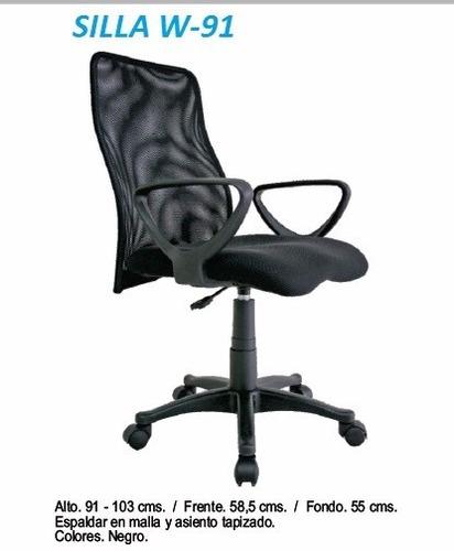 silla giratoria para oficinas y negocios