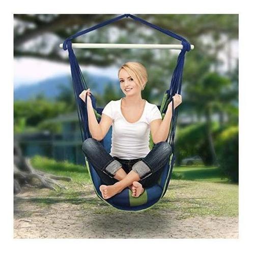 silla hamaca mecedora sorbus colgante de una cuerda interio