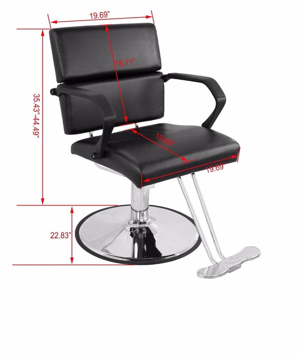 Silla hidraulica moderna para barberia peliquero o for Sillas para barberia