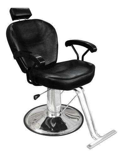 silla hidraulica reclinable y giratoria sillon para barberia vinil estetica peluqueria