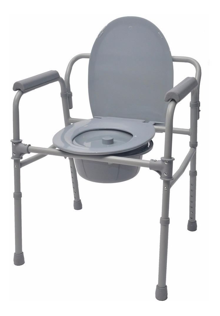 silla higienica plegable