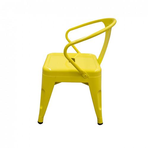 silla infantil acero pintado interior urba lumo living