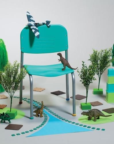 silla infantil piccolo prescolar jardín maternal mobilarg