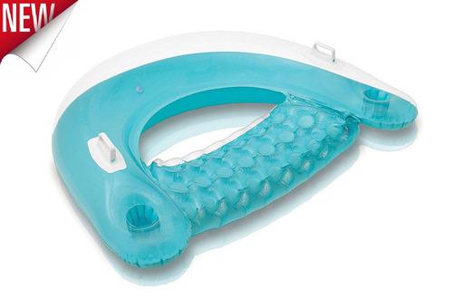 silla inflable silla reclinable flotante flotador piscina