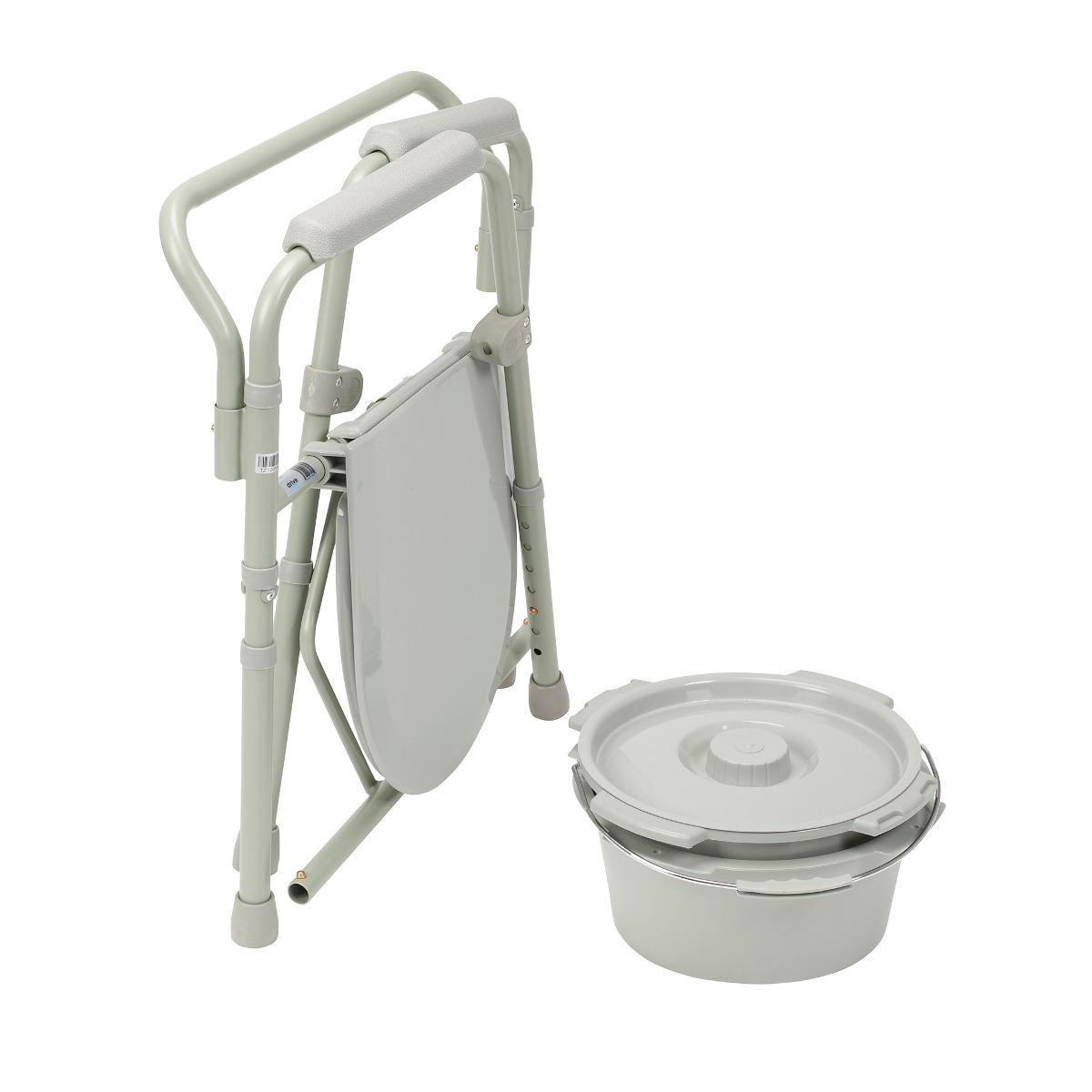 Silla inodoro elevador sanitario water plegable ba o d for Silla vater