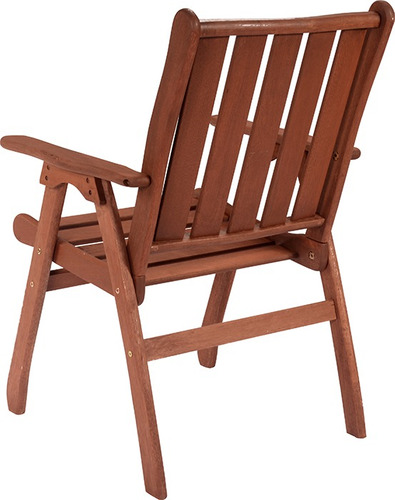 silla jardin madera