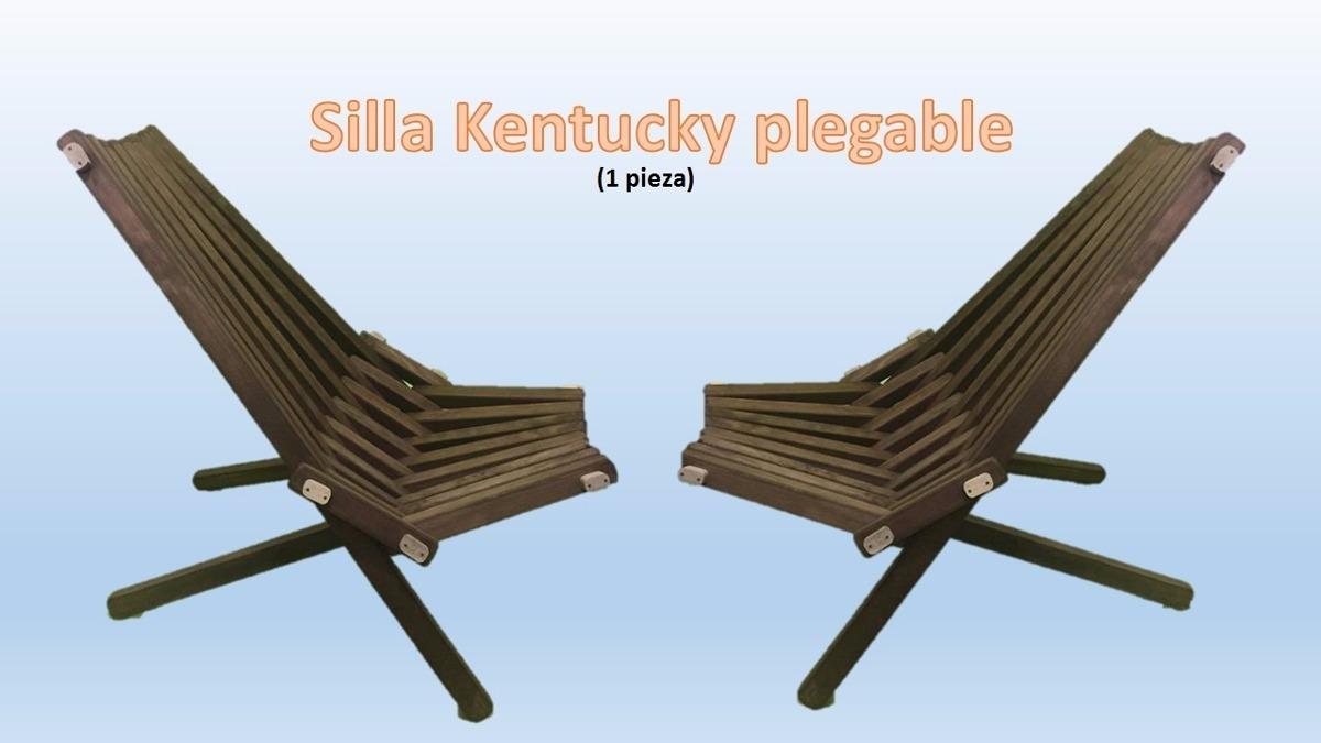 Silla kentucky de jard n interior plegable env ogratis for Sillas de jardin plegables