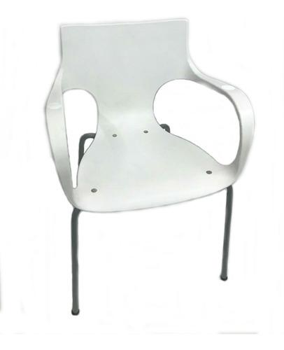 silla jim apilable colores base gris recepción auditorio