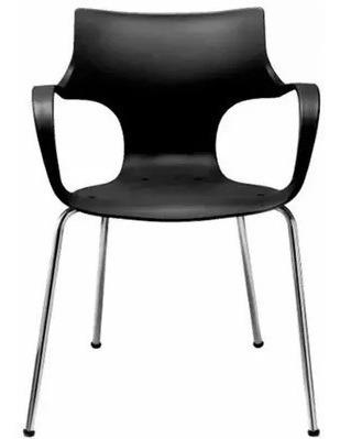 silla jim apilable cromada recepción + envío sin cargo caba