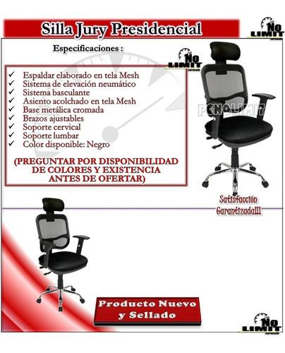 silla jury presidencial, oficina sala pcnolimit mx
