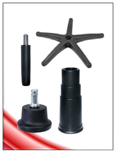 silla kit6 base presidenc+hidraulic+regaton repuesto pcnolim