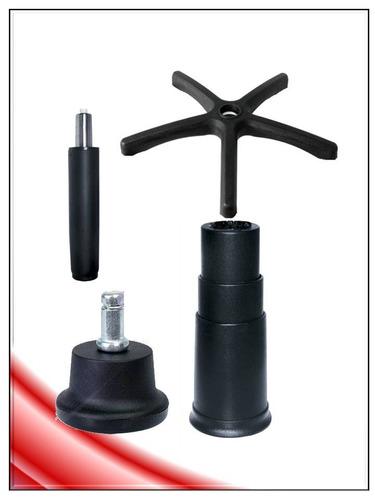 silla kit8 base ejecutiv+hidraulic+regatn repuesto pcnolimit
