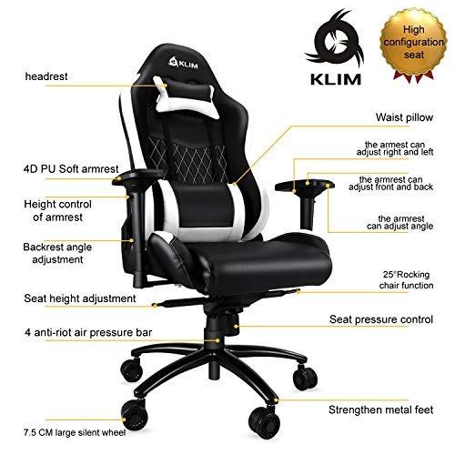 silla klim esports  para videojuegos klim esports