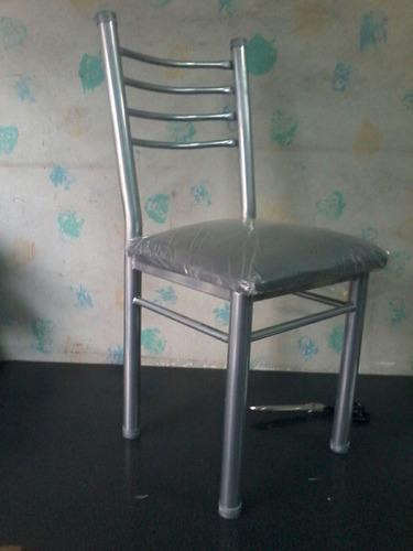 silla libra de caño 1y1/2 reforzada - con tarjeta - promo