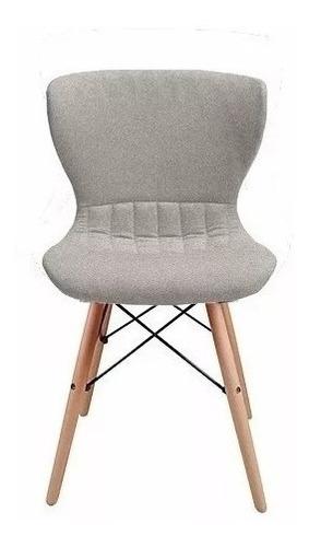 silla living comedor sillas eames base de madera