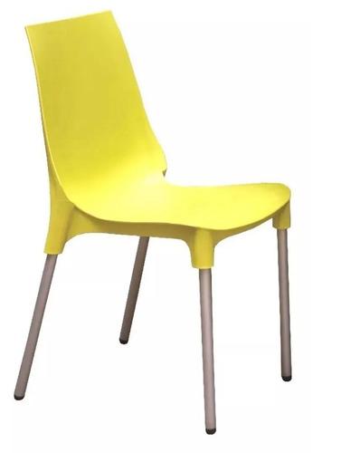 silla lola x2 apilable hogar recepción consultorio auditorio