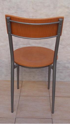 silla madera  caño simet usada muy buen estado