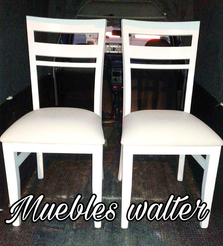 Silla Madera Paraíso Muebles Walter Comedor Living - $ 1.710,00 en ...