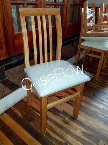 silla madera paraíso tapizado talampaya. reforzadas. oferta