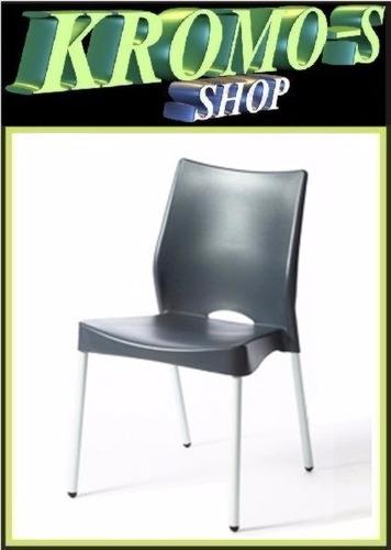 silla malba apilable hogar recepción ciber auditorio espera