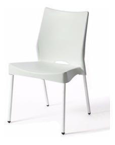 silla malba x3 apilable hogar recepción auditorio espera