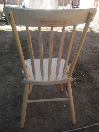 silla malinche de madera